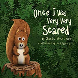 once I was very very scared-book